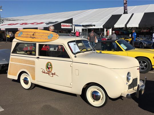 This 1948 Crosley station wagon with faux wood panels