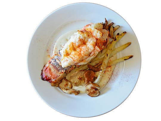 Champagne Warm Water Lobster, courtesy of Chef David Bain and Mike DeSorbo, owner of Culinary Productions.
