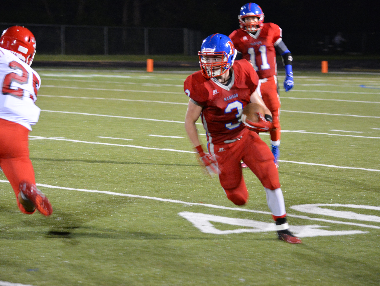 Junior Denton is a rising junior for the Madison football team.
