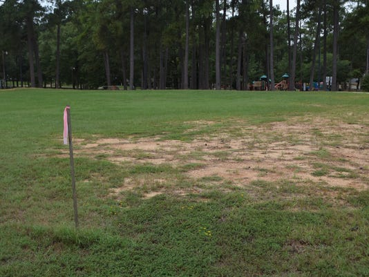 ANI Spray Pads Pineville is set to place a spray pad at Kees Park.-Melinda Martinez/The Town Talk