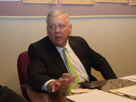 Cary J. Deaton is running for governor.-Melinda Martinez/The Town Talk