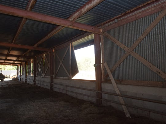 The livestock barn behind the Rapides Parish Coliseum will be be auctioned Oct. 22.