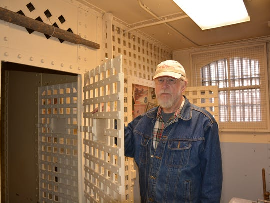 Tom Schuller, president of the Kewaunee County Historical