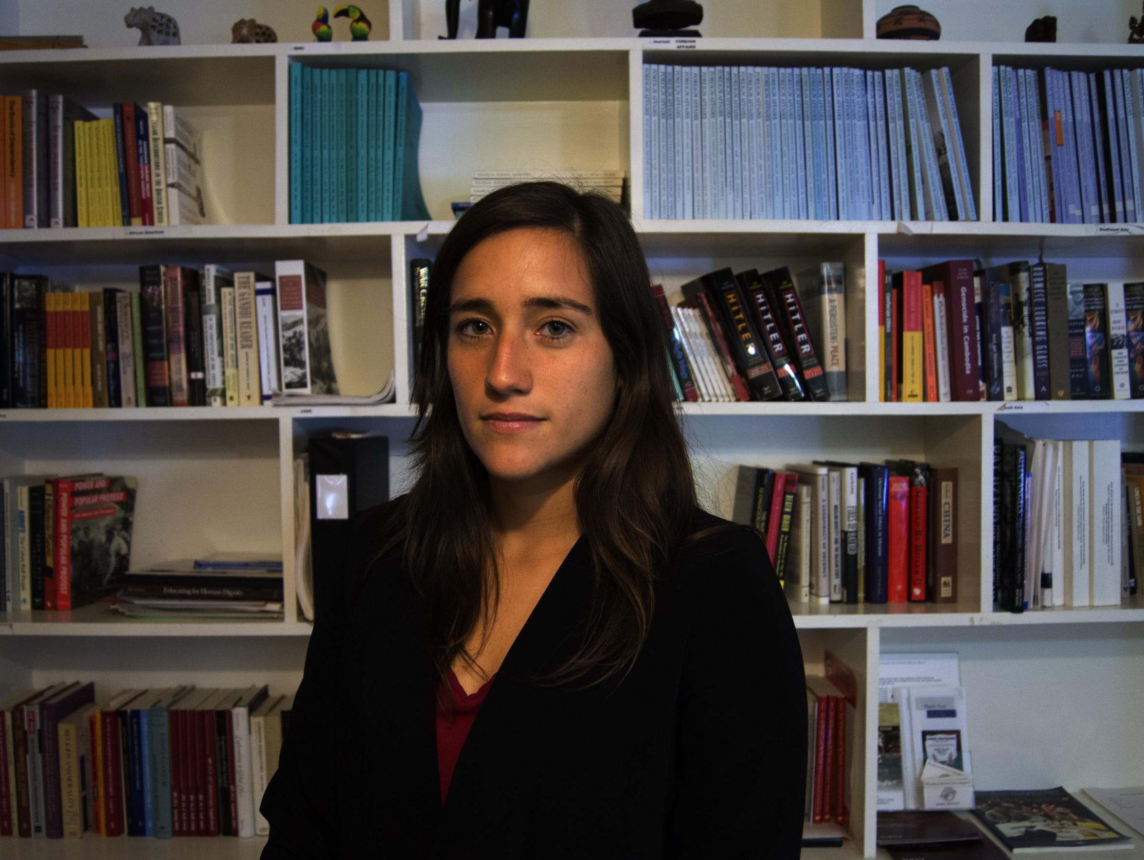 Daniela Donoso Garcia, an undocumented student from