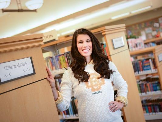 Molly at Kress Library