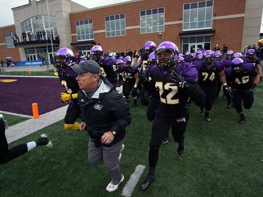 Ashland University coach Lee Owens leads the Eagles