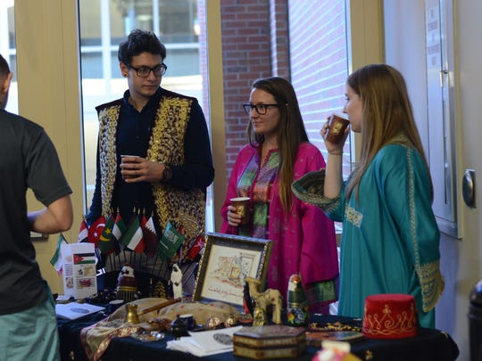 Arabic outreach program coffee house at the center for Global Engagement, Friday, Nov. 13, 2015.
