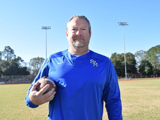 St. Mary's Lee Doty is the All-Cenla Coach of the Year.