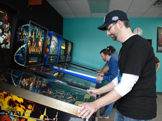 Kevin Manne, the vice president of Buffalo Pinball,