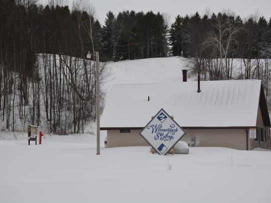 Last week's snowstorm finally provided a snow base