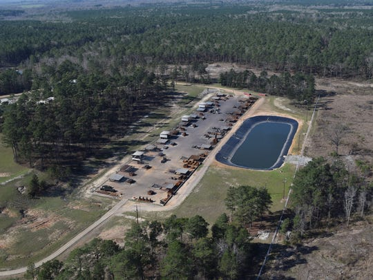This is the Clean Harbors Colfax site where toxic waste is disposed of through open burning. The company is seeking permission to expand its toxic-waste burning operations.