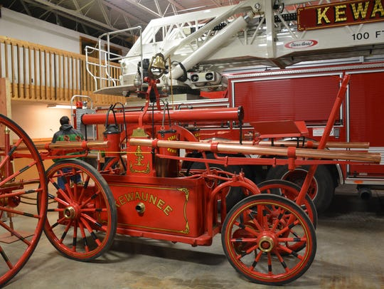 Melding the old and the new: Kewaunee's  fire truck