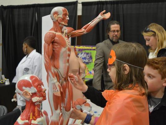 Children get to learn anatomy