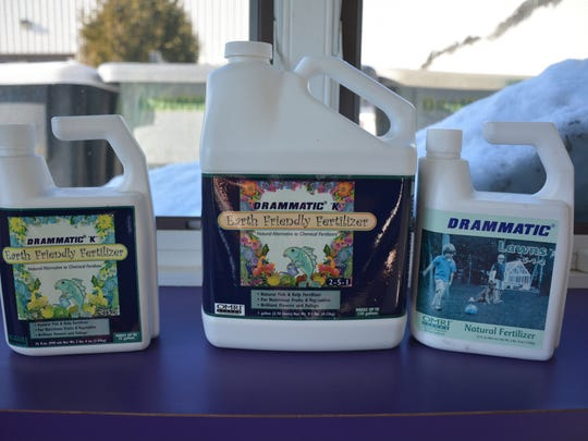Drammatic Organic Fertilizer, made from fish scraps, is sold to both agricultural and retail markets in the United States and internationally.