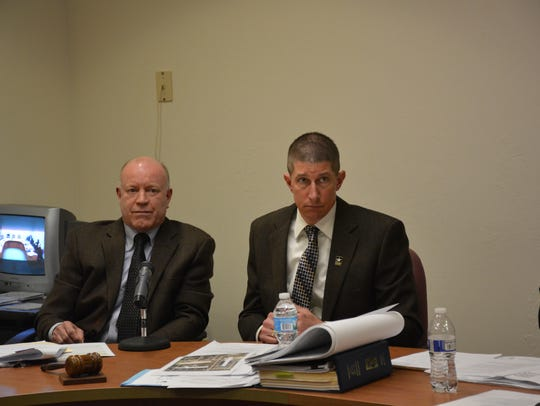 Kewaunee Plan Commission attorney Ron Messmann and