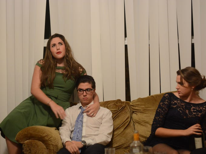 Rumors: An Elegant Farce (play), preformed on Saturday,