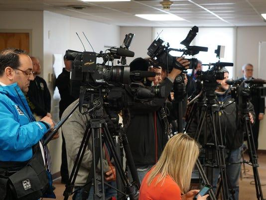 Patsy Hudson case press conference