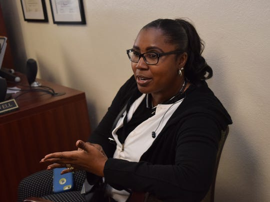 Wanda Swafford, principal of Alma Redwine Elementary, talks about incentives used to help students feel a sense of accomplishment that can crossover into learning. The Rapides Parish School District is using data to reward schools for something other than their school performance scores from the state.