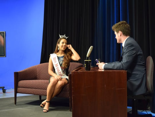 Chris Nielsen interviews 2016 Miss Miami-Dade, Crystal
