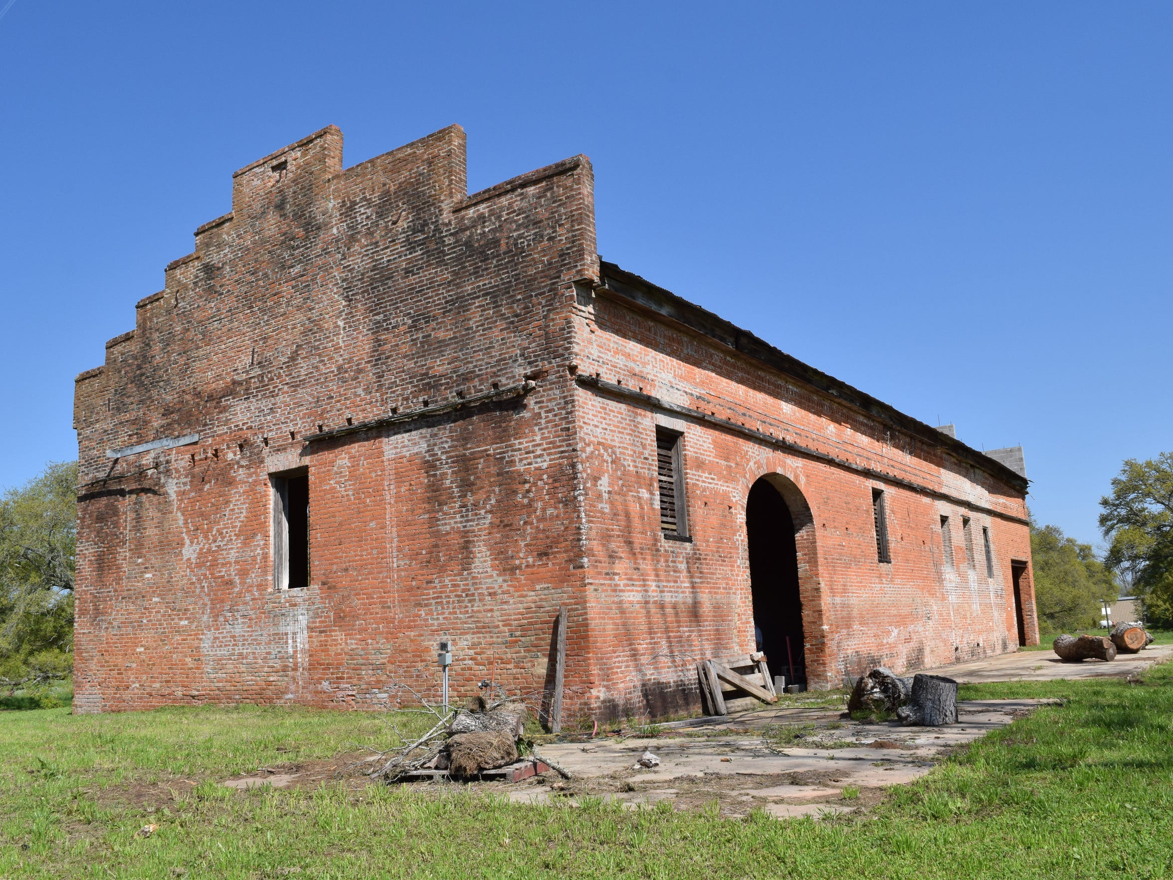 The Rosalie Sugar Mill located off Old Baton Rouge
