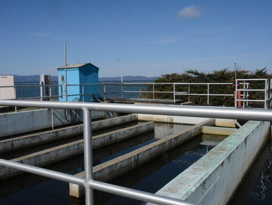 Wastewater is treated before being released into Lake