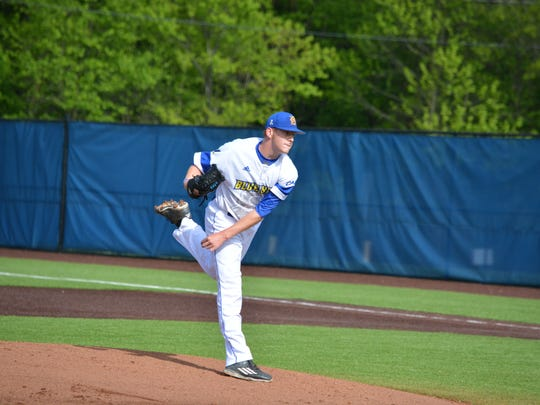 Delaware pitcher Brandon Walter, who struck out 17 in eight innings against Penn State last Saturday.