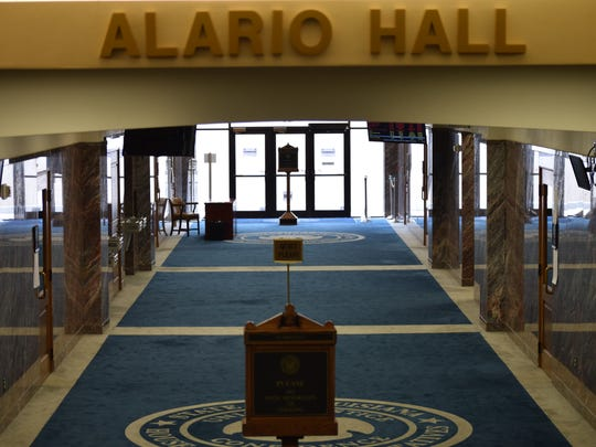 Is Alario Hall in the Louisiana Statehouse haunted?