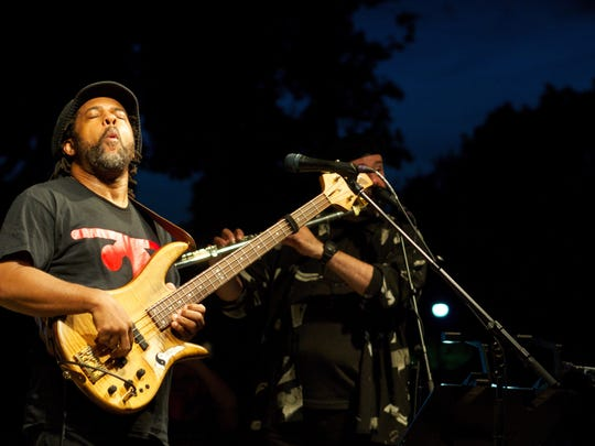 Five-time Grammy award-winning bassist Victor Wooten performs at the Mauldin Cultural Center May 13.