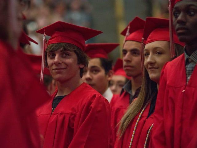 2016 high school graduates in the Iowa City area