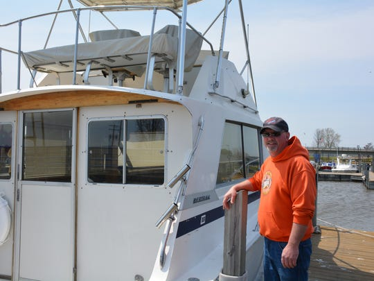 Mike Krieger, assistant manager of the Kewaunee Marina, said that higher water levels enable larger boats to use the marina creating  bigger revenues for the city of Kewaunee.