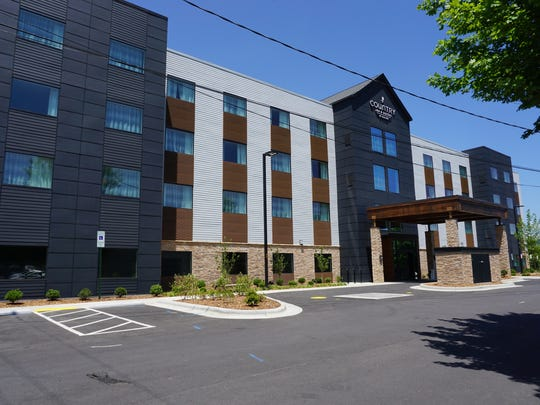 This Country Inn & Suites has opened in the Westgate Shopping Center.