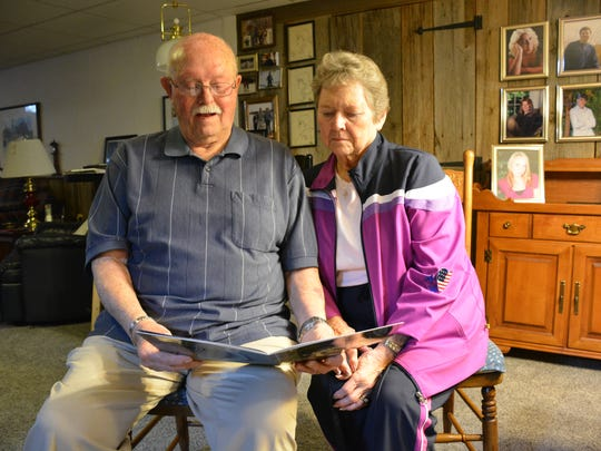 Keith and Carol Haasch of Algoma review the book detailing Keith's recent Old Glory Honor Flight.