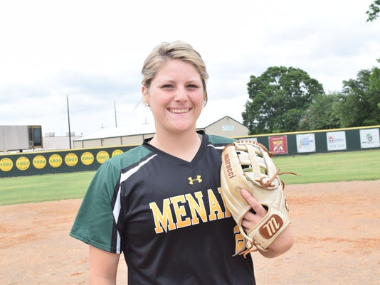 All-Cenla Most Valuable Player is Menard pitcher Jensen Howell.
