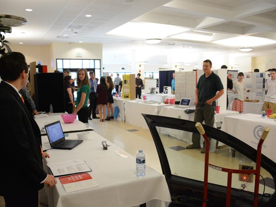 About 200 students in grades  none to 12 converged Thursday at Binghamton University to present and share business plan ideas for the seventh annual Greater Binghamton Scholastic Challenge.