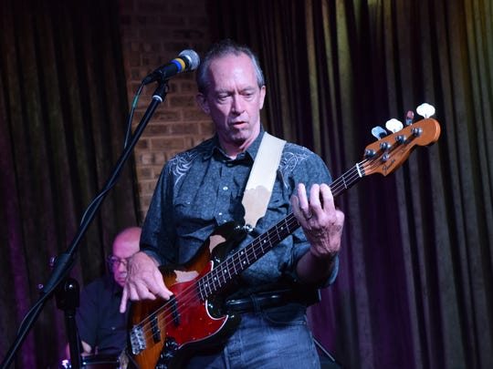 David Carroll, a bassist in the band of singer, songwriter and guitarist Bill Kirchen, is originally from Pineville. His father Bob Carroll attended the show.