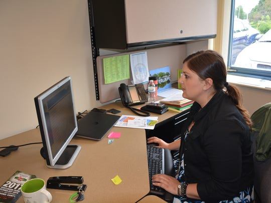 Establishing Kewaunee County tourism on social media was one of Schneider's first roles in her new job.