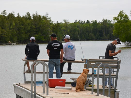Fishing at Krohn's Lake and other county parks continues to draw visitors as does charter fishing in Lake Michigan..