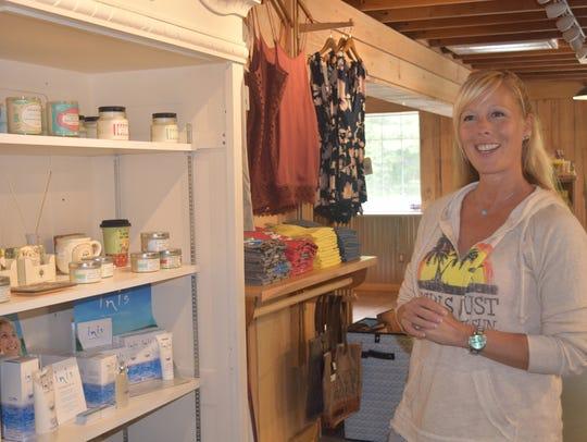Assateague Island Surf Shop co-owner Nancy Sweeney