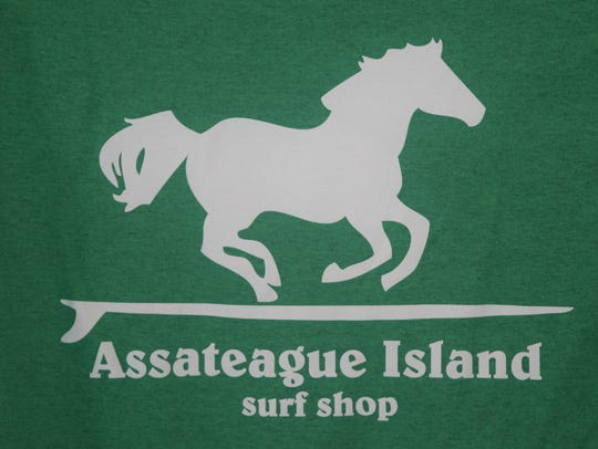 One of the shop's private logos features one of Assateague