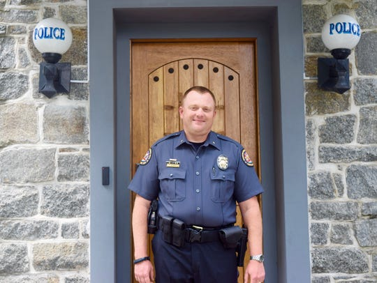 Princess Anne Police Chief Tim Bozman in the department's