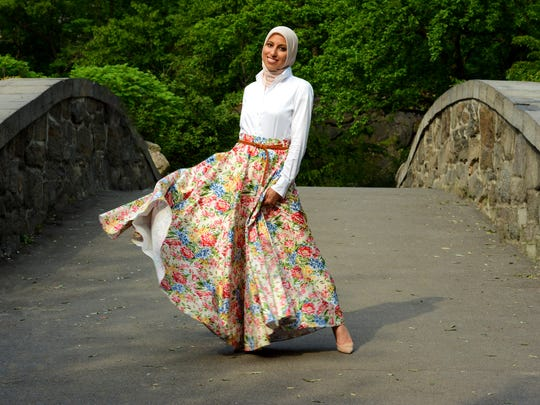 Melanie Elturk, CEO of modest-fashion site Haute Hijab,