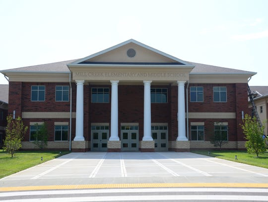 Mill Creek Elementary and Mill Creek Middle, both in the same building, opened in 2016.