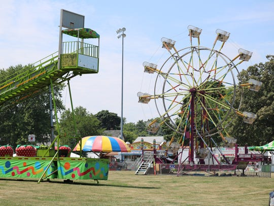 New rides and amusements will be available at this