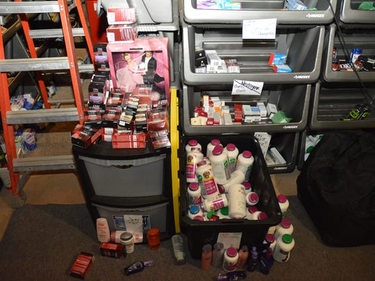"""During """"Operation Golden Eye,"""" $100,000 in over-the-counter health care products was seized."""