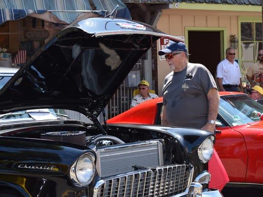 John Van Ess of Pittsgrove visited the Downtown Millville