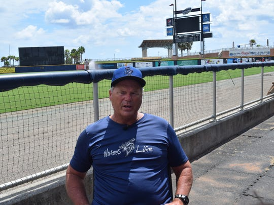 Pensacola Blue Wahoos manager Pat Kelly reflects on season, Southern League playoff series that starts Wednesday during workout break Tuesday at Blue Wahoos Stadium.