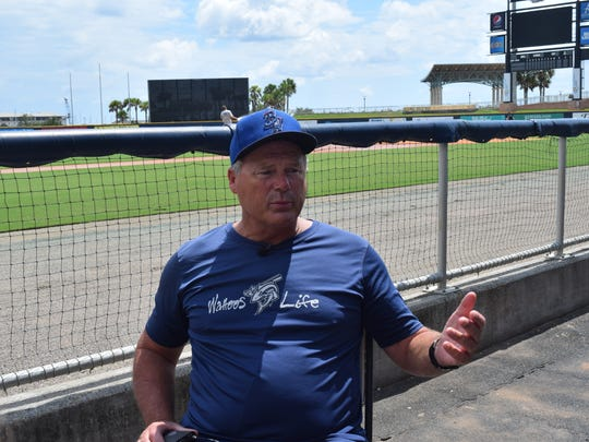 Pensacola Blue Wahoos manager Pat Kelly shown before the season-opener in April, were named Monday to head the South All-Stars coaching staff for the June 20 Southern League All-Star Game at Blue Wahoos Stadium.