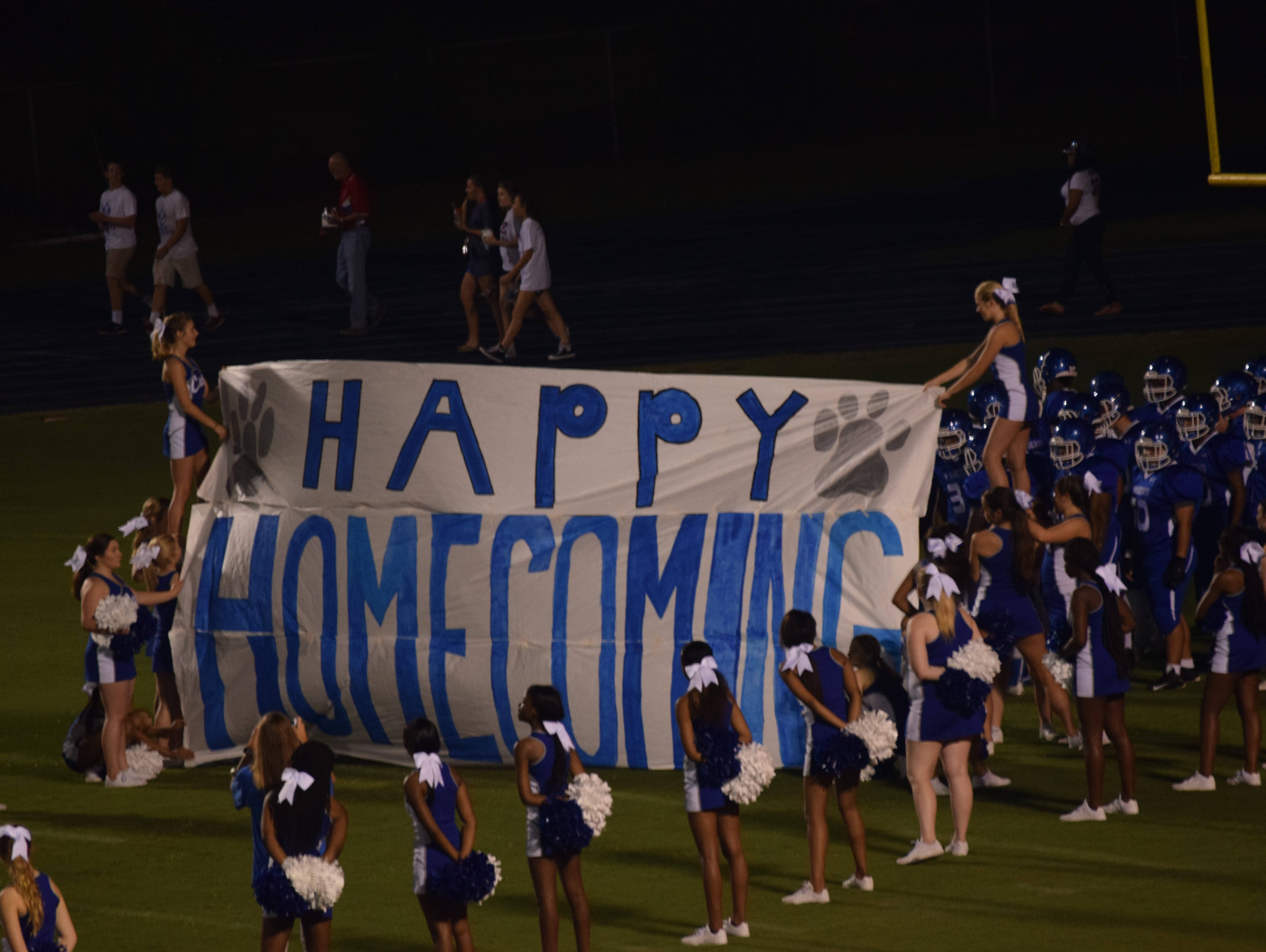 Homecoming night at Washington High against Pace.