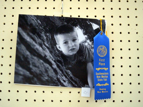 Luna County shutterbugs received ribbons for their work during the photo show at the fair.