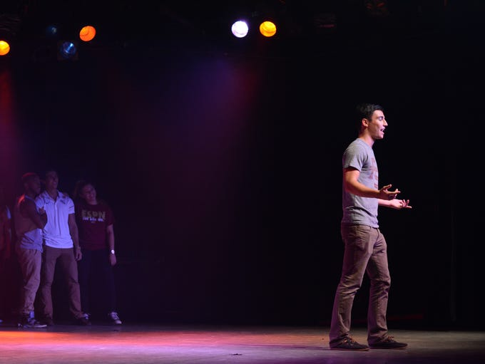 Homecoming hosted Skit Night at The Moon on Monday,